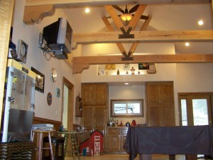 kitchen beam ceiling