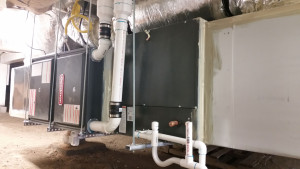 96.1% efficient furnace and 18 SEER air conditioning system.