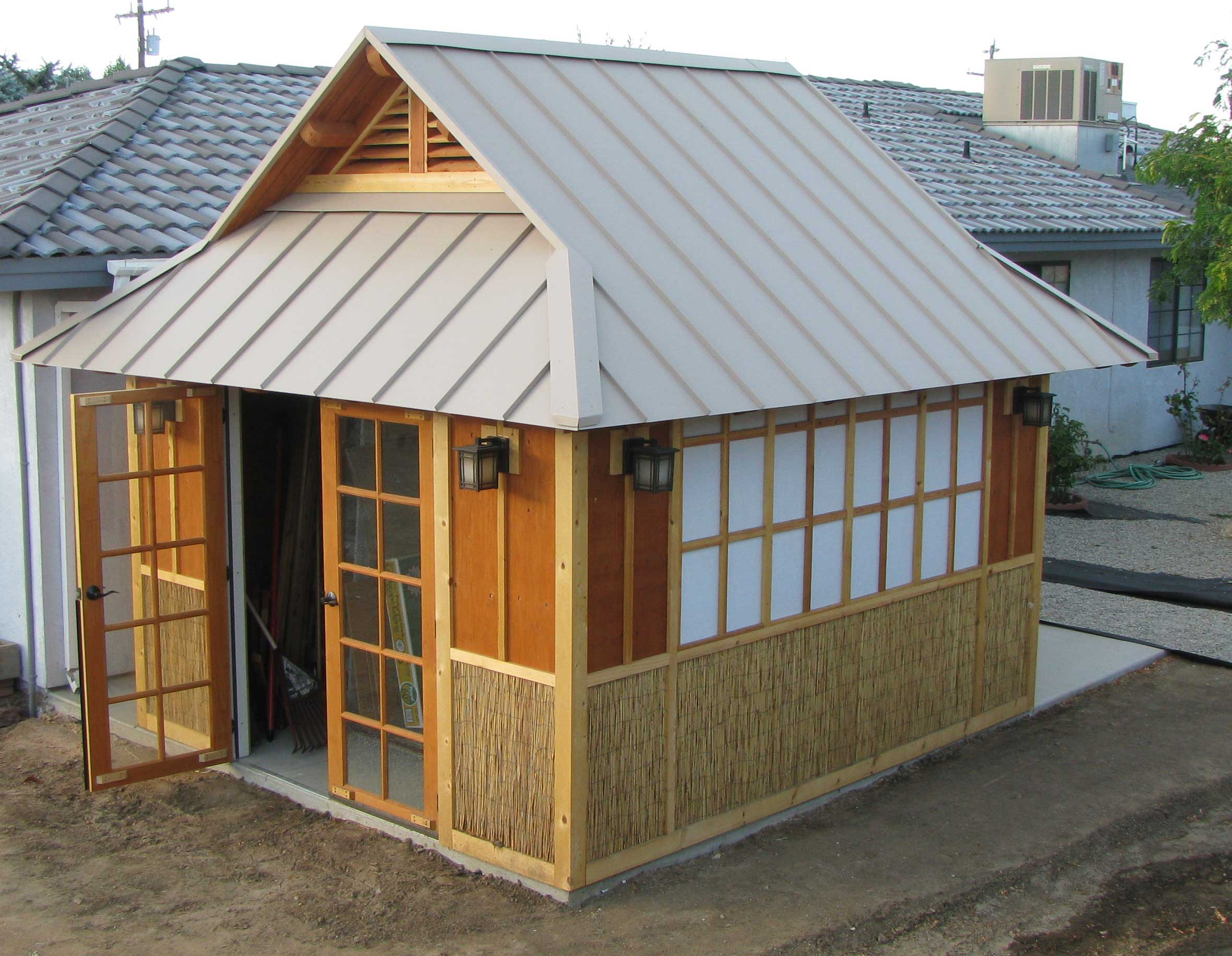 Japanese Garden Tea Room | Tehachapi Mountain Builders